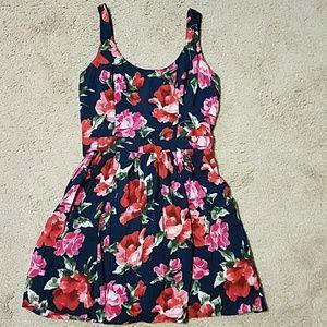 Girls Abercrombie floral dress